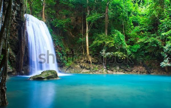 К�пи�� �о�ообои К�а�ив�й водопад водопад ��аван в