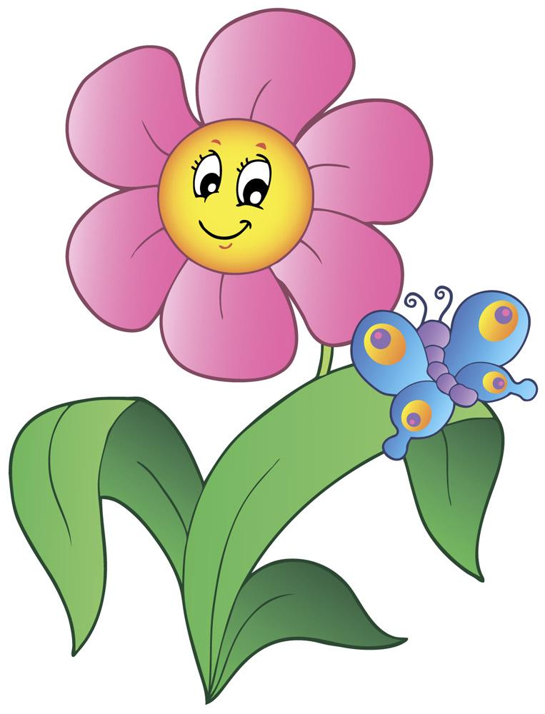 Картинки цветов из мультфильмов 1