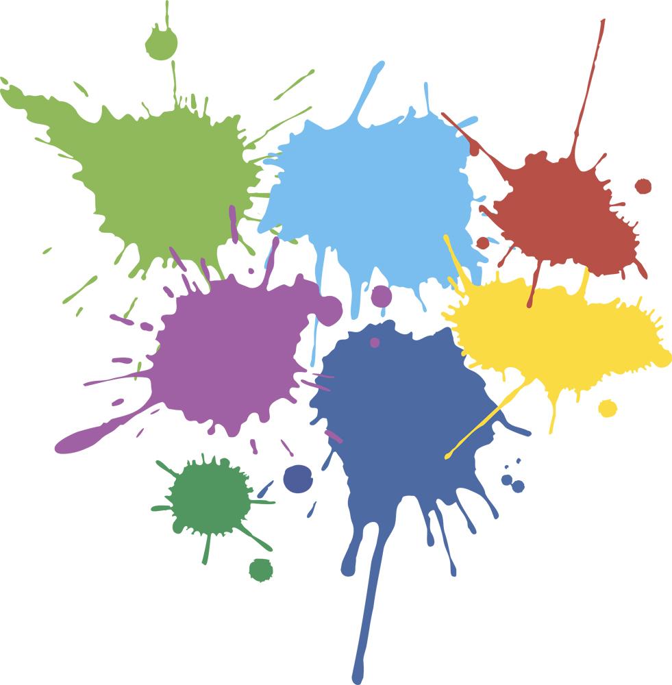 Пятна краски