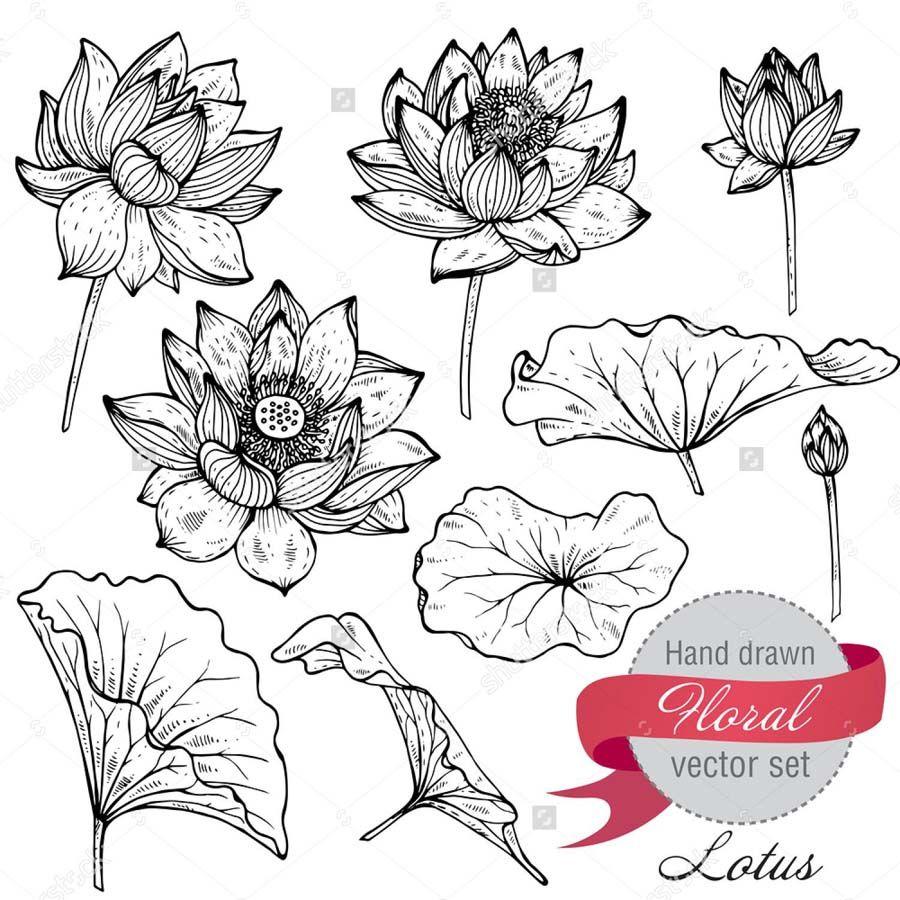 Как рисовать листочки и цветочки